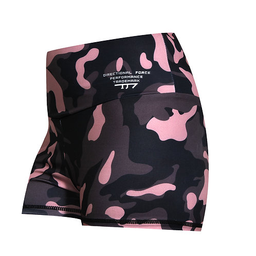 Pink Camo Booty Shorts