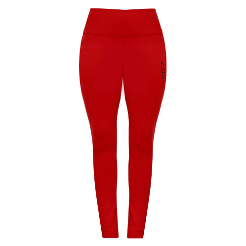 Freyja Legging - Deep Red