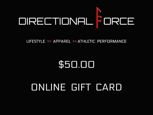 $50.00 Gift Card