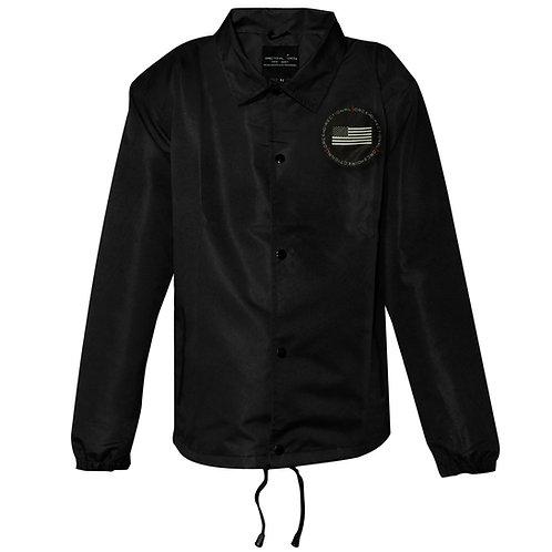 Delta Coaches Jacket - Black