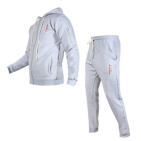 Mens Code Fleece Set-Gray