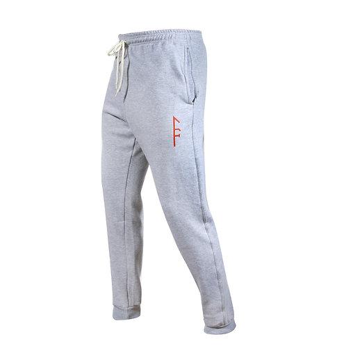 Mens Code Fleece Jogger-Gray