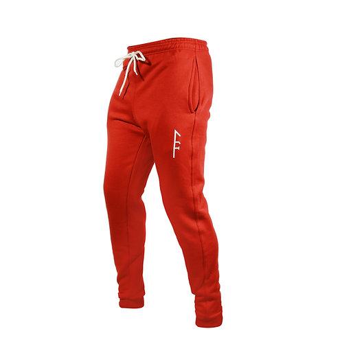 Womens Code Fleece Jogger-Red