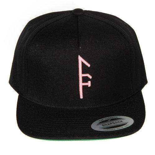 Black SnapBack...Pink Vector