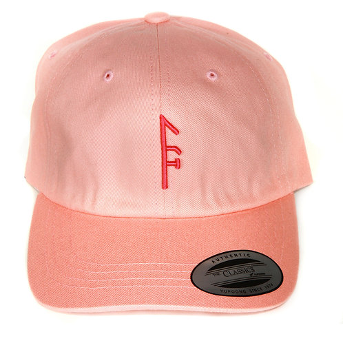 "Pink ""Dad Hat"" Pink Vector...."