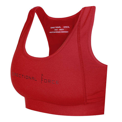 Freyja Sports Bra - Deep Red