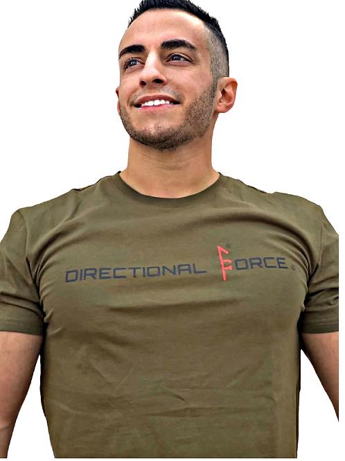 Directional Force Tee -OD Green