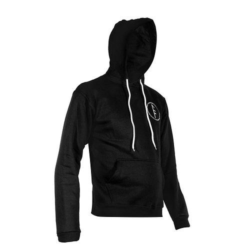 Womens Code Fleece Hoodie-Black