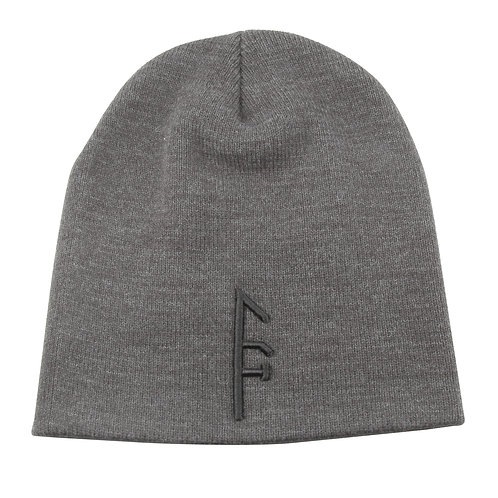 Black Vector >> Gray Beanie