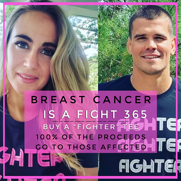 """Breast Cancer """"Fighter"""" Tee"""