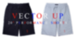"""Vector Up 20"""" Performance Shorts"""