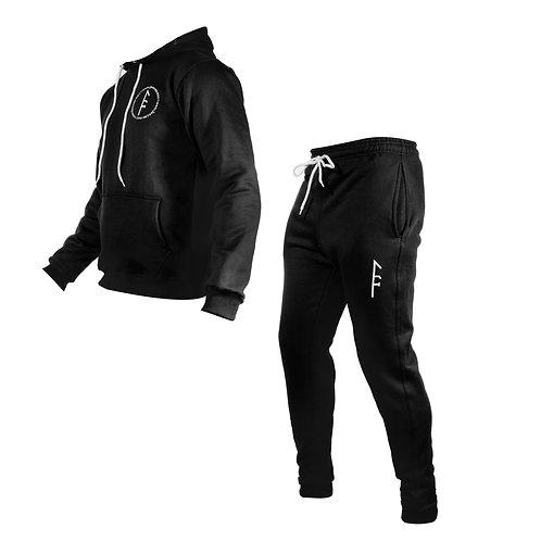 Womens Code Fleece Set-Black