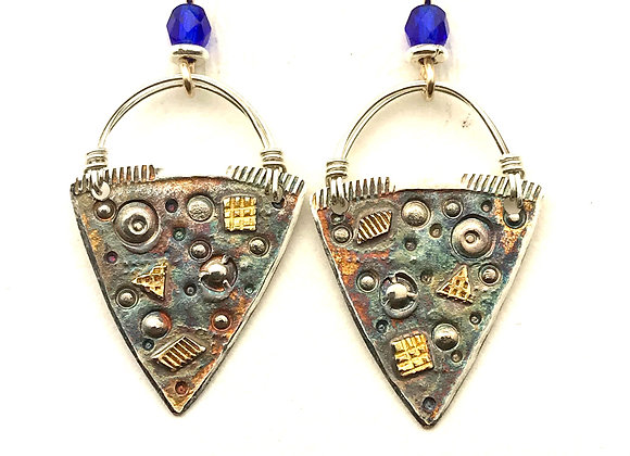 Brooke's Basket style earrings