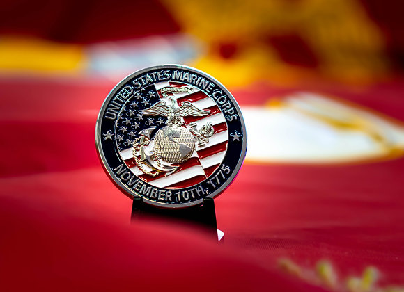 Marine Corps League Challenge Coin
