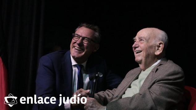 ASÍ SE CONMEMORÓ EN EL CIM ORT A LAS VÍCTIMAS DEL HOLOCAUSTO