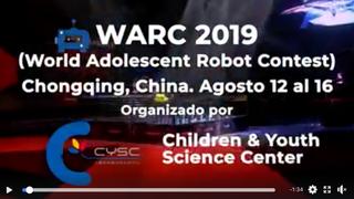 WARC World Adolescent Robot Contest 2019 - MakeX