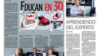 Educan en 3D