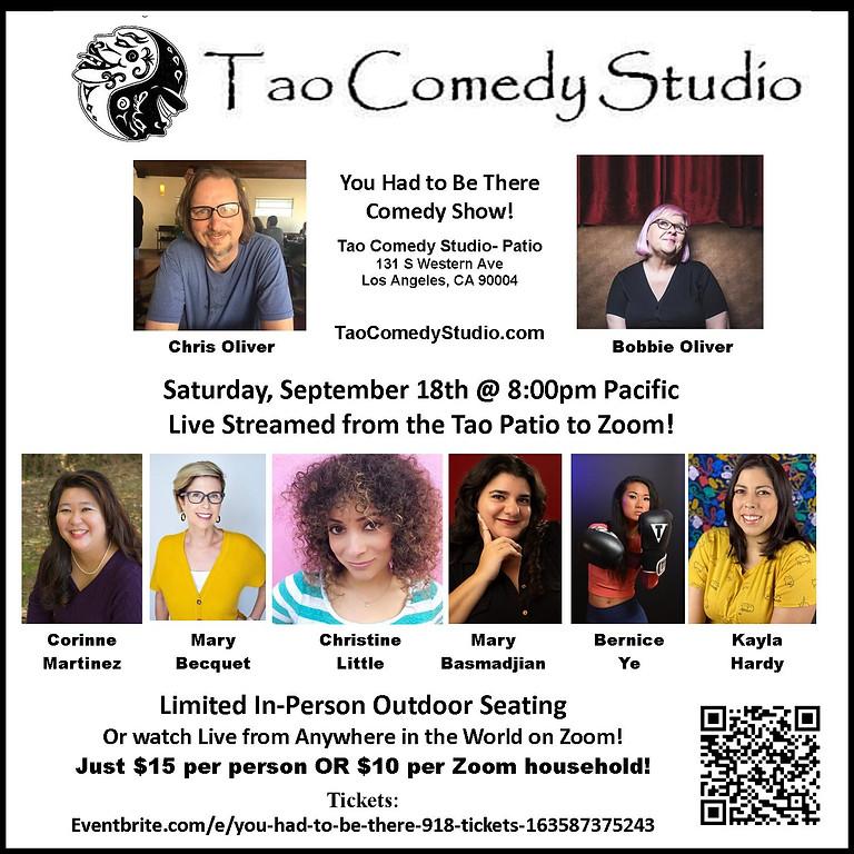 Bernice in LA: Saturday Night at Tao Comedy Club
