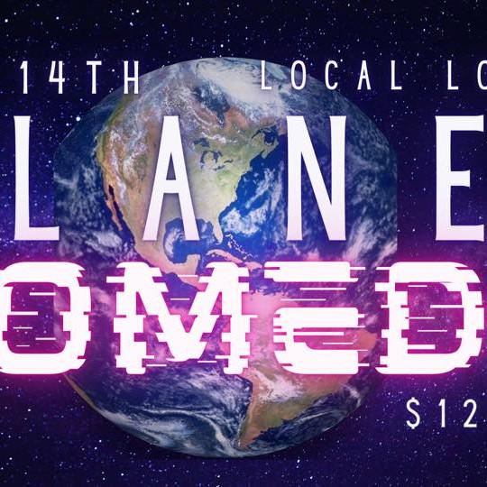 Bernice in Portland: Planet Comedy Sunday