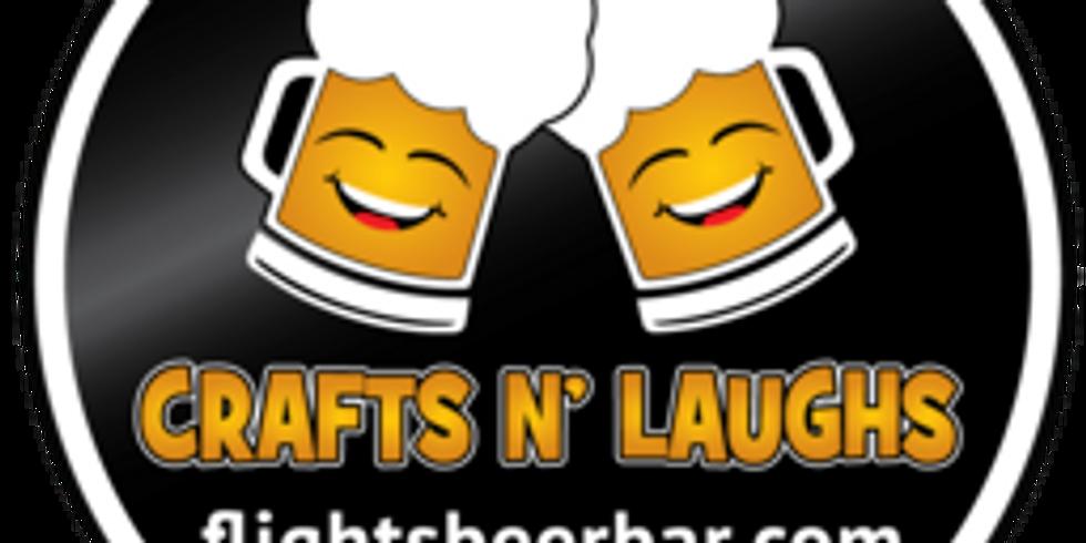 Crafts N' Laughs @ Flights Beer Bar, Hawthorne, CA