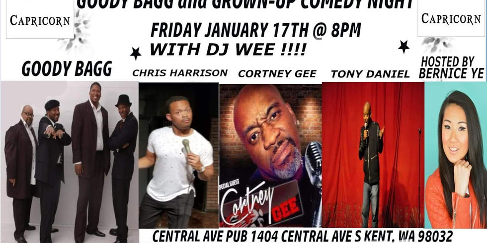 Goody Bagg and Grown-up Comedy Night - HOSTED BY BERNICE YE