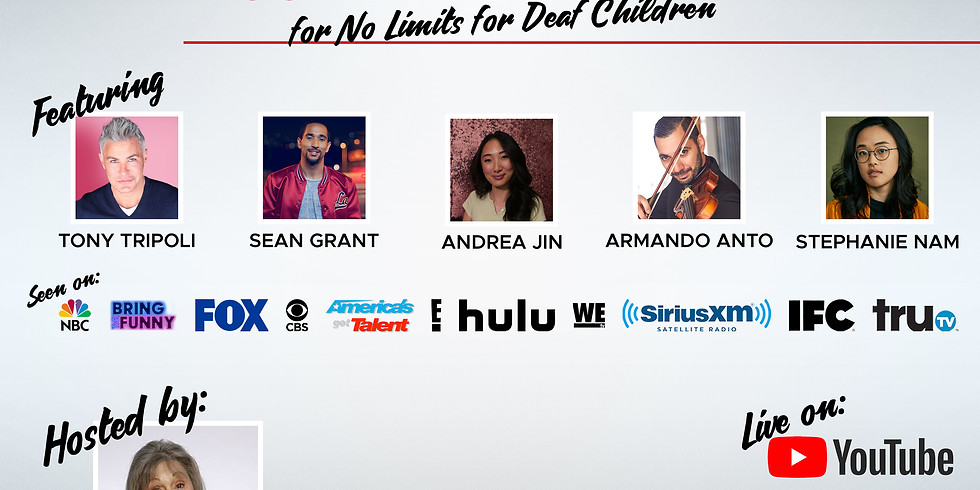Hear The Laughter - A Standup Comedy Show Benefiting No Limits for Deaf Children