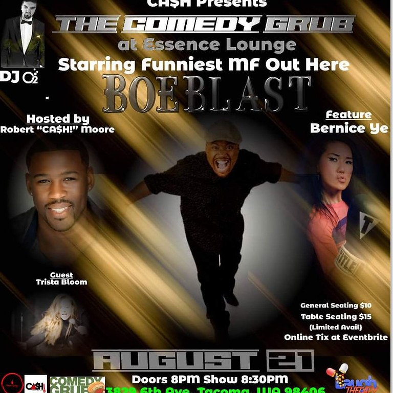 The Comedy Grub at The Essence Lounge