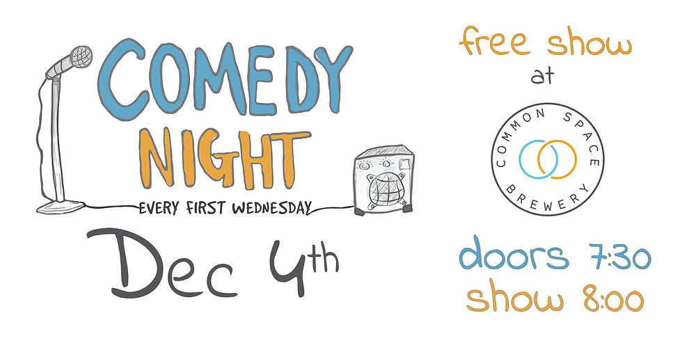 Comedy Night at Common Space Brewery (LA!)