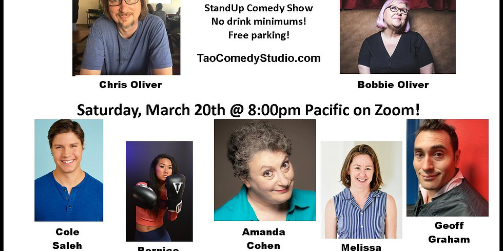 Tao Comedy Club presents: You Have To Be There