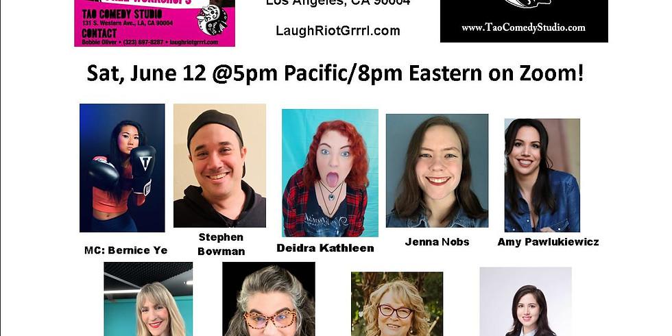 I'm Hosting @Laugh Riot GRRRL Festival