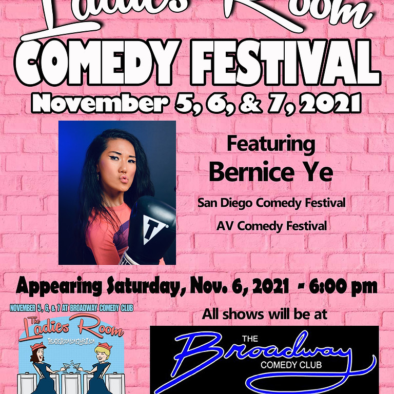 NYC Here I Come! The Ladies Room Comedy Festival