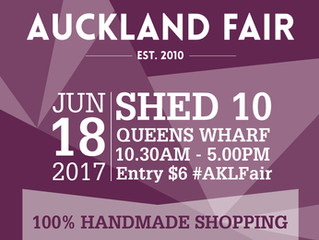 See you at the Auckland Fair, June 2017