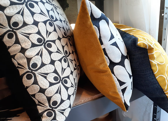 Orla Kiely & Velvet cushion