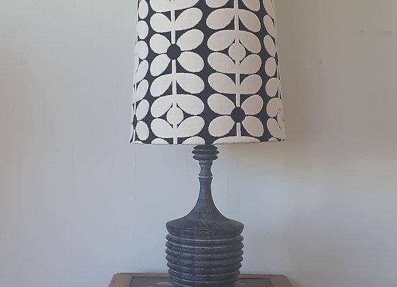 Orla Kiely Extra Tall Retro tapered lamp