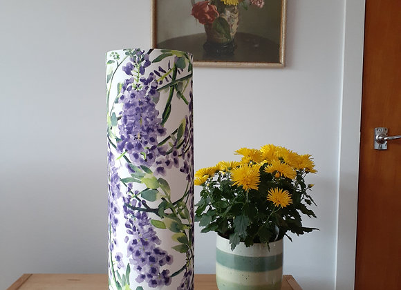 Wisteria cylinder lamp