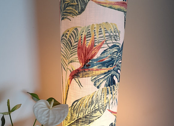 Tropical Tall cylinder floorlamp