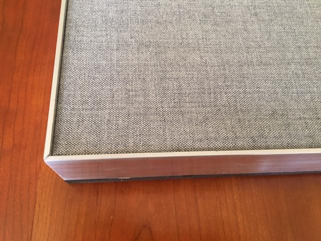 Aluminium Edge detail