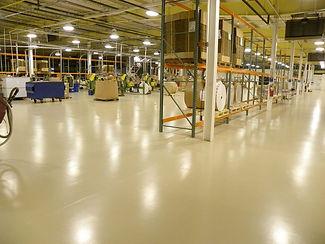 epoxy flooring factory