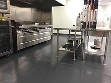 commercial kitchen Deco-Coat Flooring
