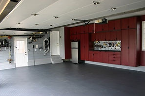 grey epoxy floor garage