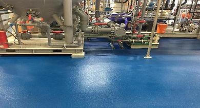 Chemical Resistant epoxy floring Deco-Coat Flooring
