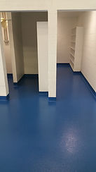 epoxy locker room floor