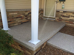 epoxy front porch