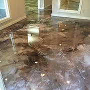 metallic epoxy flooring columbus ohio