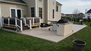 epoxy patio coating -hillard oho