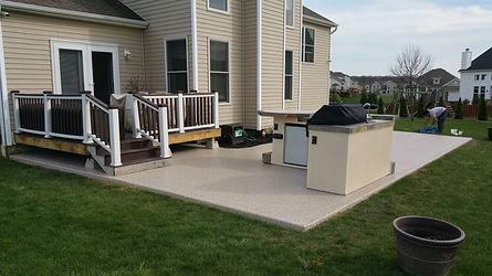 Elasti-Deck Porch Deco-Coat Flooring