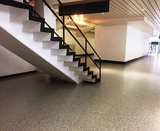 epoxy flake floor commercial