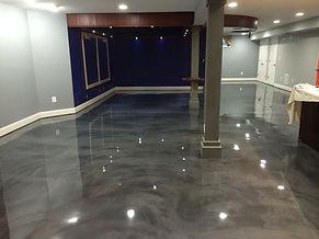 Deco Coat Flooring Metallic epoxy