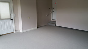 Deco-Coat Flooring llc grey epoxy flake garage