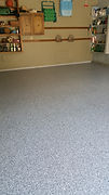 epoxy flake floor columbus
